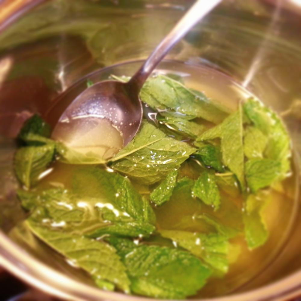 Cucumber Mint Sorbet (2/4)