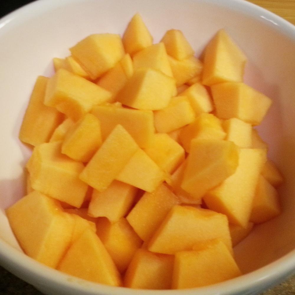 Orange Flesh Honeydew Yogurt/Sorbet (2/6)